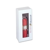 JL Decorline Series 5019G10 Surface Mounted 5lb. Fire Extinguisher Cabinet with Safety Lock