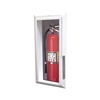 JL Decorline Series 501AN20 Semi-Recess Mounted 5lb. Fire Extinguisher Cabinet