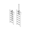 JL LP-5 Ladder Mount Expandable Safety Post - Hot Dipped Galvanized