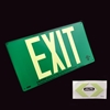 Jalite UL Listed Aluminum Photoluminescent EXIT Sign UL432AS - Green