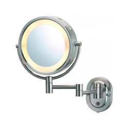 Halo Lighted Magnifying Wall Mirror