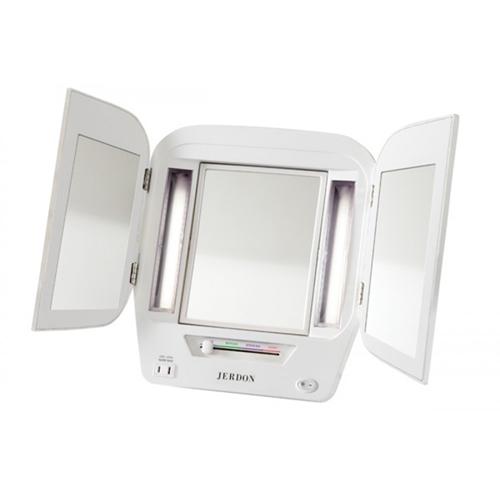Jerdon Jgl10w Eurostyle 5x Tri Fold Mirror Jp Jgl10w