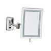 "Jerdon JRT710CL 6.5"" x 9"" LED Lighted Rectangular Wall Mounted Mirror"