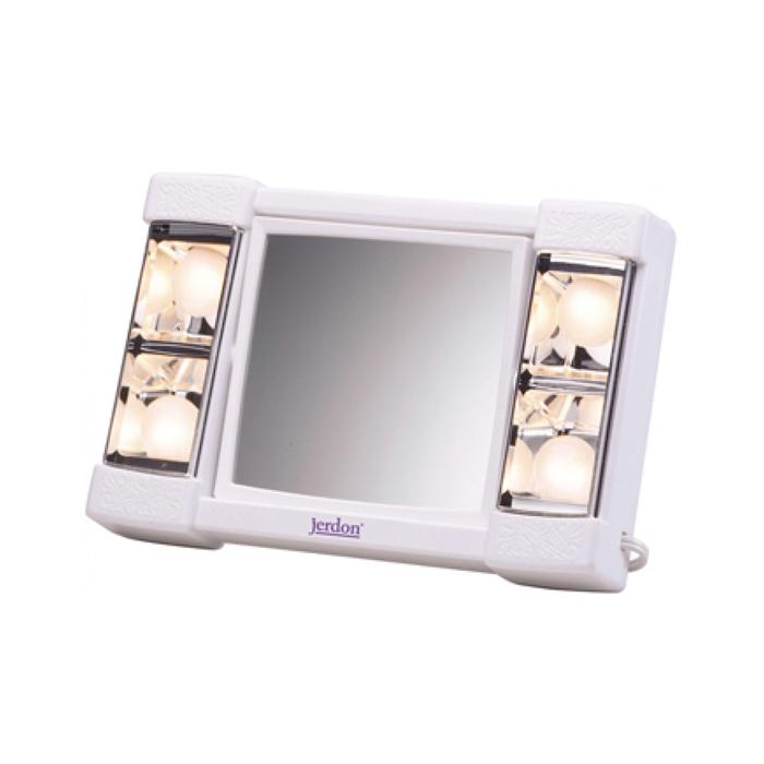 Jerdon Model J1010 3x Lighted Makeup Mirror Js J1010