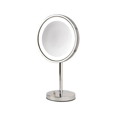 Jerdon Model Hl1015cl 5x Led Lighted Table Top Mirror Jp