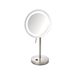 Sharper Image® LED Lighted Table Top Mirror