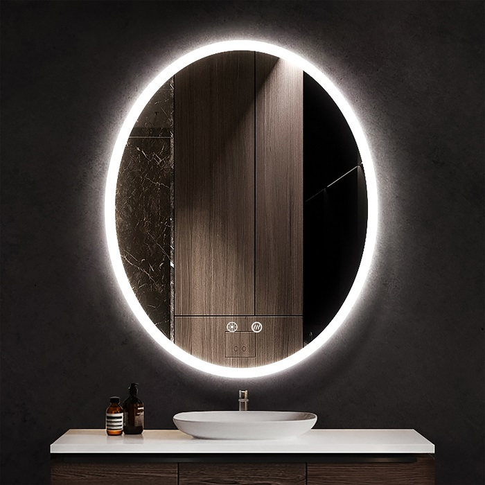 Ellipse LED Mirror