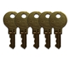 Koala 492-KIT Keys for KB200 and KB134-SSLD (5 Pack)