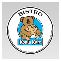 Koala Bistro Seat Back Label