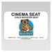 Label for Cinema Seat