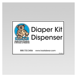 Label for Diaper Dispenser