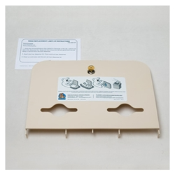 Liner Dispenser Lid Kit - Cream 466-00-KIT