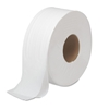 "12"" 2-Ply 2000' Jumbo Roll Toilet Tissue - 6 Rolls per Case"