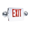 LED Exit Sign w/Lights