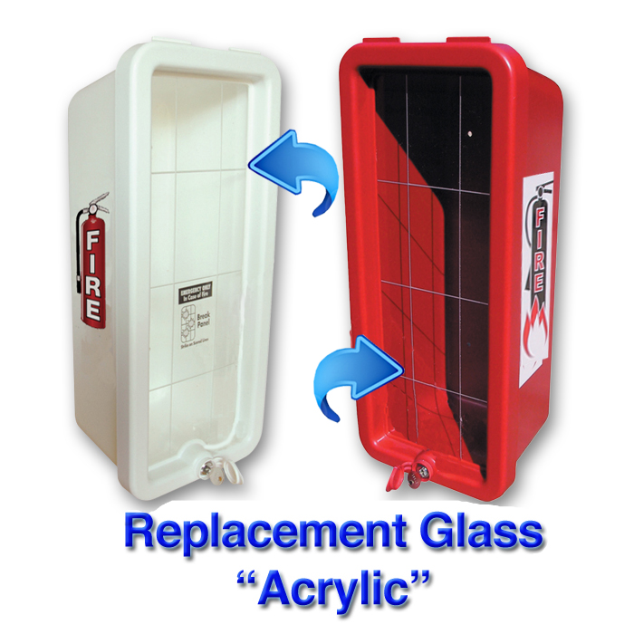 Cato 12075 Replacement Glass For 20 Lb Plastic Fire