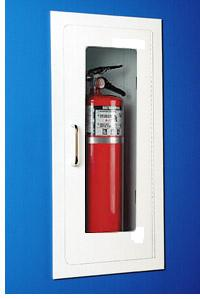 Fully-Recessed Fire Extinguisher Cabinet - Model A-126