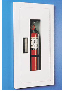 Semi- Recessed Fire Rated Fire Extinguisher Cabinet - Model S-116