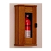 Wooden Fire Extinguisher Cabinet with Acrylic Front Panel