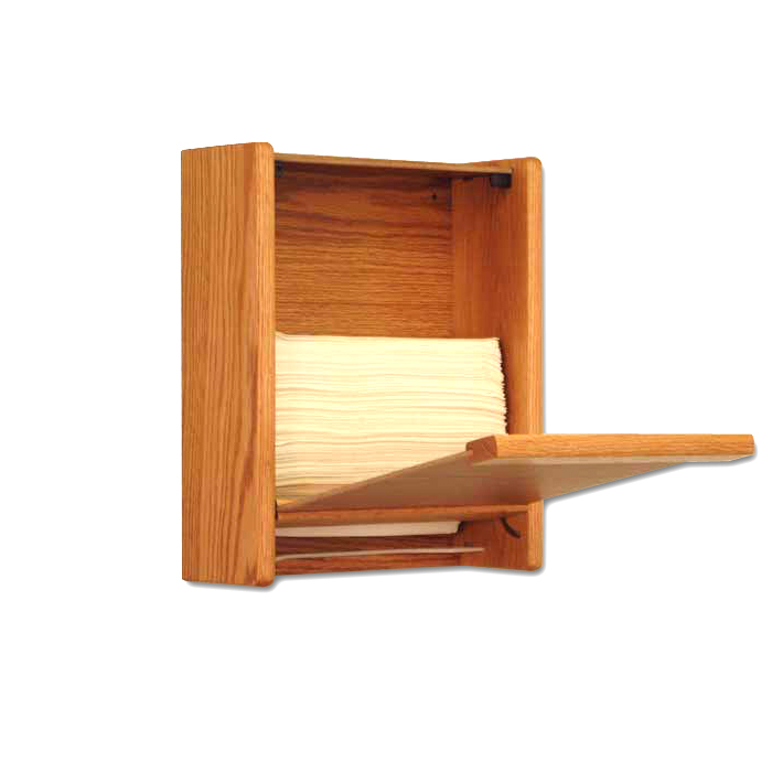 wooden mallet paper towel dispensers natural finish - Paper Towel Dispenser