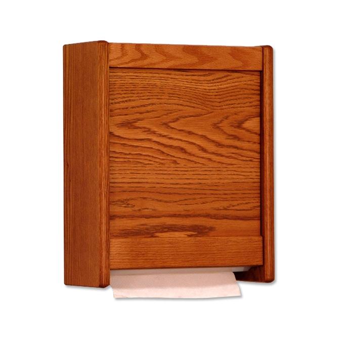 Wooden Mallet Paper Towel Dispensers (Medium Oak ) ...