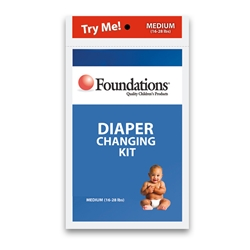 Brocar by Foundations Diaper Kit 107-DK for Diaper Vendors by Foundations (80 Pack)
