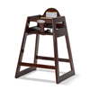 Foundations 4501859 Ultimate Food Service High Chair - Antique Cherry