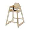 Foundations 4522046 Neat Seat High Chair - Natural