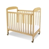 Serenity Compact Clearview Crib - 1732040 - Natural