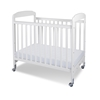 Serenity Compact Clearview Crib - 1732120 White