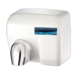 Palmer HD0901-17 White Hand Dryer