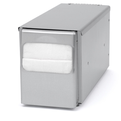 Palmer ND0051-13 Counter Top Low-Fold Napkin Dispenser Stainless Steel