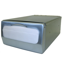 Palmer ND0061-13 Counter Top Mini-Fold Napkin Dispenser Stainless Steel