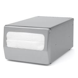 Palmer ND0071-13 Counter Top Full-Fold Napkin Dispenser Stainless Steel